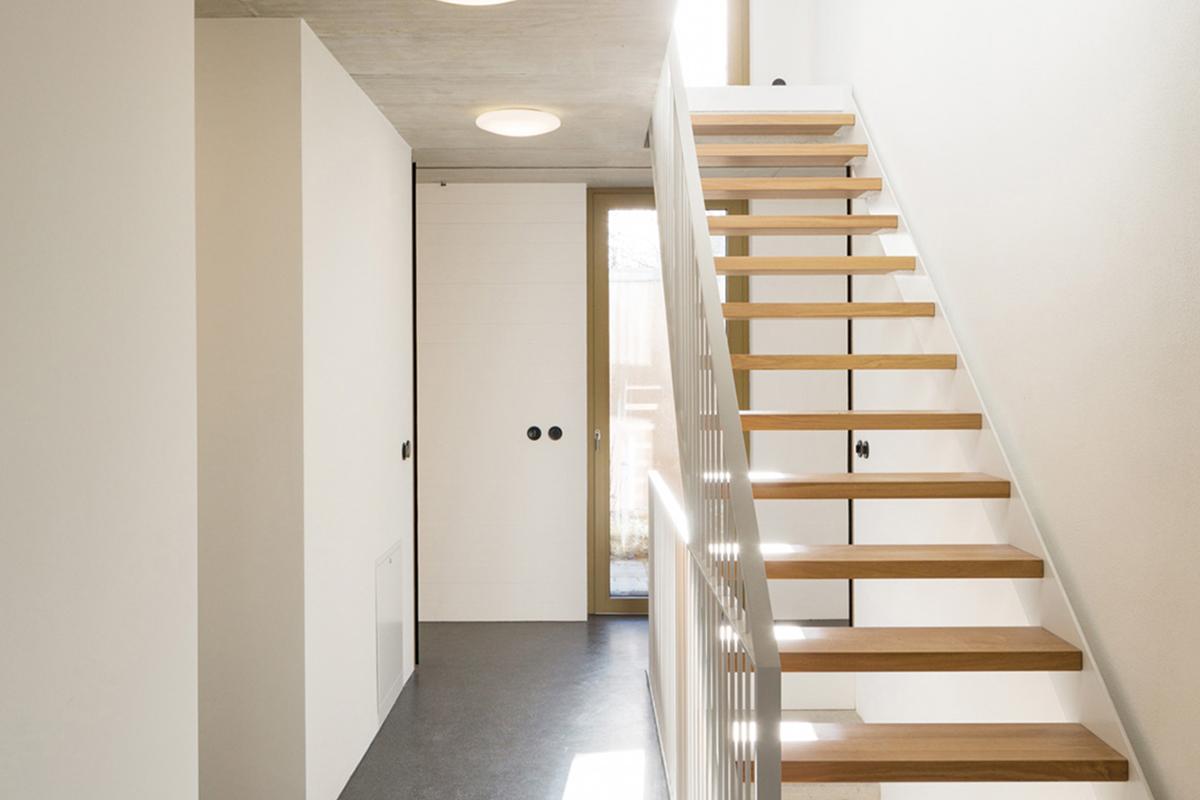 Treppenhaus zweifamilienhaus  BCI Ingenieure - Referenzen